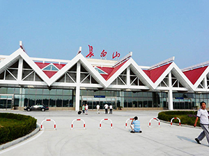 Application of synchronous display in Changbaishan Airport